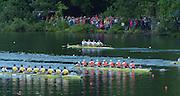 Lucerne, SWITZERLAND, Women's Eights final.  2000 FISA World Cup, Rotsee Rowing Course, June 2000.  [Mandatory Credit, Peter Spurrier/Intersport-images]...ROM W8+ Georgeta DAMIAN - ANDRUNACHE, Viorica SUSANU, Ioana OLTEANU, Doina IGNAT, Magdalena DUMITRACHE, Elisabeta LIPA - OLENIUC, Marioara CIOBANU - POPESCU, Veronica COCHELA - COGEANU, Cox Elena GEORGESCU - NEDELC...CAN.W8+ Bow, Laryssa BIESENTHAL, Buffy-Lynne WILLIAMS- ALEXANDER, Dorota URBANIAK, Heather DAVIS, Heather McDERMID, Alison KORN, Emma ROBINSON, Theresa LUKE, Cox, Lesley THOMPSON - WILLIE..AUS.W8+. Victoria ROBERTS, Alison DAVIES, Jodi WINTER, Bronwyn THOMPSON, Rachael KININMONTH, Kristina LARSEN, Emily MARTIN, Jane ROBINSON, cox Katie FOULKES.vide.NED.W8+ ow. Anneke VENEMA, Carin TER BEEK, Christine VINK, Annemieke EIJGELAAR,  Nelleke PENNINX, Tessa ZWOLLE- APPELDOORN, Marieke WESTERHOF, Elien MEIJER, cox  Martijnte QUIK ..GER. W8+ Bow Anke WEILER, Silke GUENTHER, Sarah POLLMANN, Susanne SCHMIDT, Ulrike STADLMAYR, Marita SCHOLZ, Daniela GORR,  Elke HIPLER, Cox Yvonne ILLING. 2000 FISA World Cup, Lucerne, SWITZERLAND