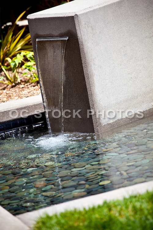 Outdoor Water Fountain Detail