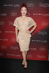 People's One's to Watch Event Celebrating Hollywood's Rising and Brightest Stars - Los Angeles. 04 Oct 2017 Pictured: Sharna Burgess. Photo credit: Jaxon / MEGA TheMegaAgency.com +1 888 505 6342