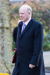Downing Street, London, March 21st 2017. Transport Secretary Chris Grayling attends the weekly cabinet meeting at 10 Downing Street.