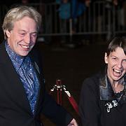 NLD/Scheveningen/20131130 - Inloop concert 200 Jaar Koningrijk der Nederlanden, Jette klijnsma en partner