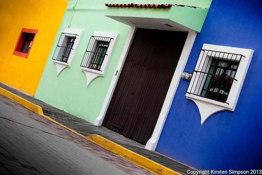 Beautiful Buildings in Cholula
