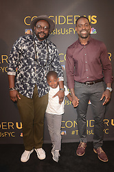 """LOS ANGELES, CA - AUGUST 14:  Brian Tyree Henry and Sterling K. Brown at the FYC Event for 20th Century Fox and NBC's """"This Is Us"""" at Paramount Studios on August 14, 2017 in Los Angeles, California. (Photo by Scott Kirkland/PictureGroup)"""