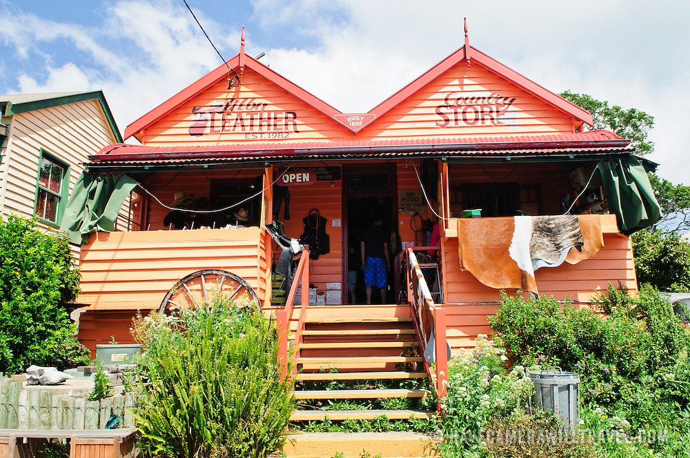 A shop in the quaint historic town of Central Tilba on NSW southern coast