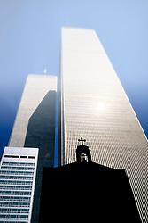 11.09.2013, New York City, USA, 12. Jahrestag zu den Terroranschlaegen auf das WTC, im Bild The Cross, Kreuz, orthodoxe Kirche Ecke West/Liberty vor Nord- und Südturm des ehemaligen World Trade Center WTC, Manhatten, vor den 9/11/2001, Terroranschlägen // during the remember of the terror attacks of the 11th of September 2001 at the world trade center in New York City, United States of America on 2013/09/11. EXPA Pictures © 2013, PhotoCredit: EXPA/ Eibner/ Michael Weber<br /> <br /> ***** ATTENTION - OUT OF GER *****