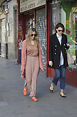 Alejandra Silva shopping and lunch with a friend