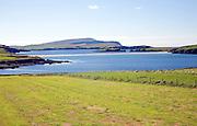 Tombolo St Ninian's Island, Shetland Islands, Scotland