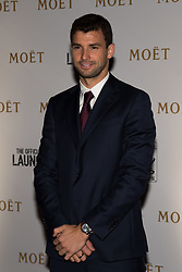 November 9, 2017 - London, England, United Kingdom - Grigor Dimitrov of Bulgaria arrives at The Official Launch for ATP Finals, held at the Tower of London prior to the start of ATP World Tour Finals Tennis at O2 Arena, London on November 9, 2017. (Credit Image: © Alberto Pezzali/NurPhoto via ZUMA Press)