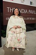 KIRAN NADAR,  INDIAN PAVILION, Opening of the Venice Biennale, Venice, 8 May 2019