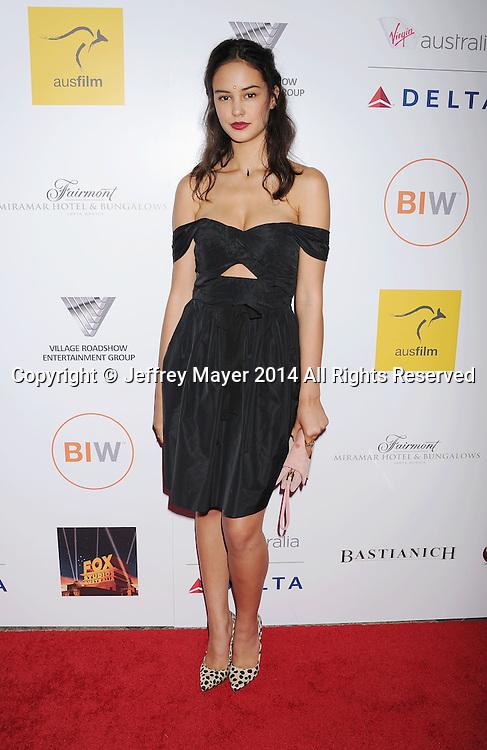 SANTA MONICA, CA- OCTOBER 26: Actress Courtney Eaton  attends the 3rd Annual Australians in Film Awards Benefit Gala at the Fairmont Miramar Hotel on October 26, 2014 in Santa Monica, California.