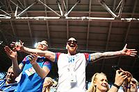iceland supporters celebration<br /> Moscow 16-06-2018 Football FIFA World Cup Russia  2018 <br /> Argentina - Iceland / Argentina - Islanda<br /> Foto Matteo Ciambelli/Insidefoto