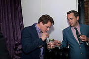 JOHN BARROWMAN; BEN CHAMBERLAIN PR, After party for  La Cage Aux Folles which opened at the Playhouse Theatre. Jewel. Maiden Lane. Covent Garden. London. 5 October 2009