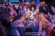 HONEY ROSS ( ON RIGHT), Luminous -Celebrating British Film and British Film Talent,  BFI gala dinner & auction. Guildhall. City of London. 6 October 2015.