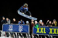 Snowboard , X-Games Oslo <br /> 26. Februar 2016  , 20160226<br /> Snowboard, Half Pipe, Wyller, X-Games <br /> Danny Davis , USA<br /> Foto: Sjur Stølen / Digitalsport