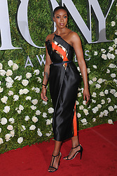 June 11, 2017 - New York, NY, USA - June 11, 2017  New York City..Condola Rashad attending the 71st Annual Tony Awards arrivals on June 11, 2017 in New York City. (Credit Image: © Kristin Callahan/Ace Pictures via ZUMA Press)