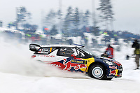 MOTORSPORT - WORLD RALLY CHAMPIONSHIP 2012 - RALLY SWEDEN / RALLYE DE SUEDE - 08 TO 12/02/2012 - KARLSTAD (SWE) - PHOTO : FRANCOIS BAUDIN /  DPPI - 01CITROEN TOTAL WRT / LOEB Sebastien - ELENA Daniel / CITROEN DS 3 - WRC / Action