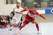 Futsal: 1. Bundesliga, HSV-Panthers - Stuttgart Futsal Club, Hamburg, 11.09.2021<br /> Srdan Ivankovic (Stuttgart, r.)<br /> © Torsten Helmke