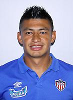Colombia League - Liga Aguila 2015-2016 - <br /> Club Deportivo Junior de Barranquilla - Colombia / <br /> Jhonny Alexander Vasquez Salazar