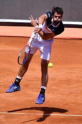May 16, 2019 - Roma, Italia - Foto Alfredo Falcone - LaPresse.16/05/2019 Roma ( Italia).Sport Tennis.Internazionali BNL d'Italia 2019.Rafael Nadal (esp) vs Jeremy Chardy (fra).Nella foto:Jeremy Chardy..Photo Alfredo Falcone - LaPresse.16/05/2019 Roma (Italy).Sport Tennis.Internazionali BNL d'Italia 2019.Rafael Nadal (esp) vs Jeremy Chardy (fra).In the pic:Jeremy Chardy (Credit Image: © Alfredo Falcone/Lapresse via ZUMA Press)
