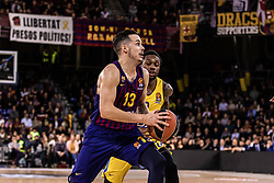 November 1, 2018 - Barcelona, Barcelona, Spain - Thomas Heurtel, #13 of FC Barcelona Lassa in actions during EuroLeague match between FC Barcelona Lassa and Maccabi Fox Tel Aviv  on November 01, 2018 at Palau Blaugrana, in Barcelona, Spain. (Credit Image: © AFP7 via ZUMA Wire)