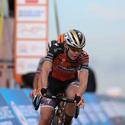 22-08-2020: Wielrennen: NK vrouwen: Drijber<br /> Anna van der Breggen (Netherlands / Boels - Dolmans Cycling Team)Blaak - Van den Broek Chantal (Netherlands / Boels - Dolmans Cycling Team)