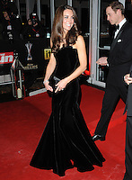 The Duchess of Cambridge arrives for The Sun Military Awards 2011 at the Imperial War Museum, London, on the 19th December 2011.<br /> <br /> PHOTOGRAPH BY JAMES WHATLING