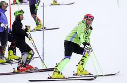 KUERNER Miha of Slovenia prior to the Men's Slalom - Pokal Vitranc 2014 of FIS Alpine Ski World Cup 2013/2014, on March 9, 2014 in Vitranc, Kranjska Gora, Slovenia. Photo by Matic Klansek Velej / Sportida