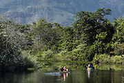 Santana do Riacho_MG, Brasil.<br /> <br /> Passeio de canoa no Rio Cipo em Santana do Riacho, Minas Gerais.<br /> <br /> Canoe trip on the Cipo River in Santana do Riacho, Minas Gerais.<br /> <br /> Foto: LEO DRUMOND / NITRO