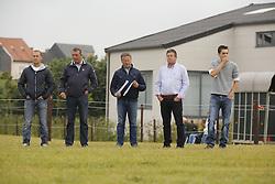 Guy Janssens, Nico Philippaerts, Koen Olaerts, Vorselmans, ...<br /> SBB Competitie Jonge Paarden - Nationaal Kampioenschap - Kieldrecht 2014<br /> © Dirk Caremans