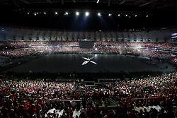 Paulo Roberto Falcão na Festa Gigante - Reinauguração do Beira-Rio, neste sábado 05 de abril de 2014. O estádio Beira Rio receberá os jogos da Copa do Mundo de Futebol 2014. FOTO: Jefferson Bernardes/ Agência Preview