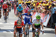 Julian Alaphilippe (FRA - QuickStep - Floors) during the Tour de France 2018, Stage 1, Noirmoutier -en-l'île - Fontenay-le-Comte (201km) on July 7th, 2018 - Photo Kei Tsuji / BettiniPhoto / ProSportsImages / DPPI
