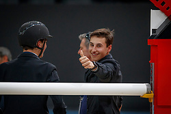 Philippaerts Anthony, Philippaerts Thibault<br /> LONGINES FEI World Cup™ Finals Paris 2018<br /> © Dirk Caremans<br /> 11/04/2018