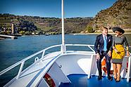 Koning Willem-Alexander en Koningin Máxima brengen een werkbezoek aan de Duitse deelstaten Rijnland
