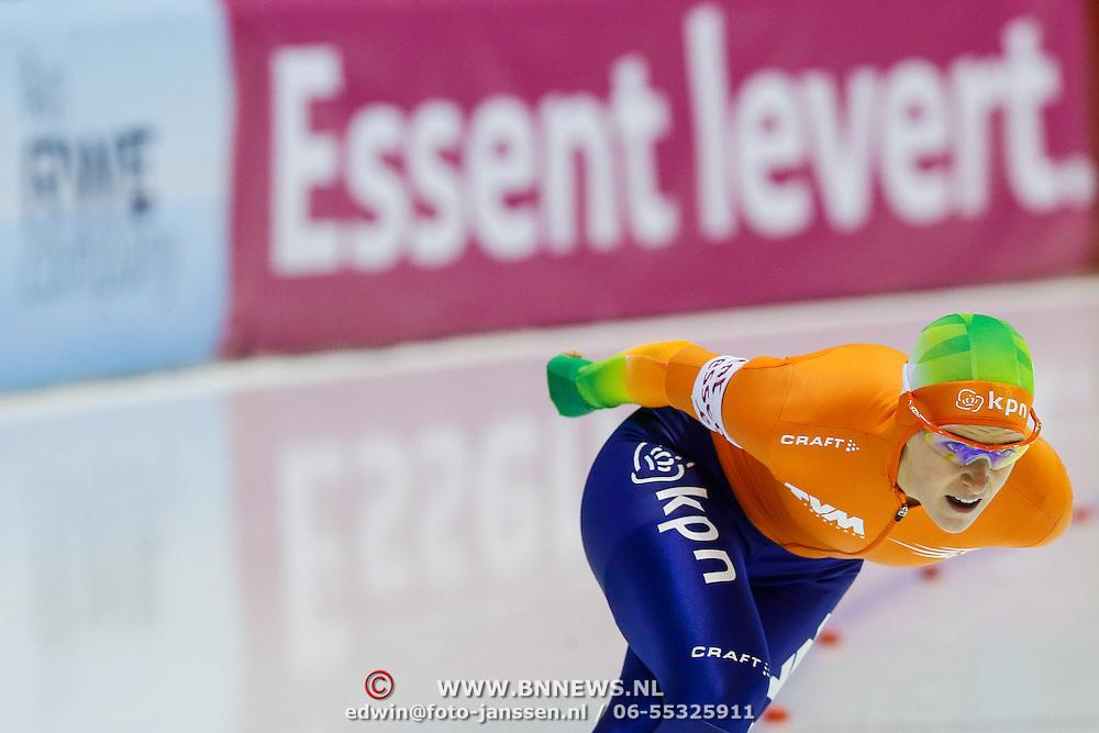 NLD/Heerenveen/20130112 - ISU Europees Kampioenschap Allround schaatsen 2013 dag 2, 3000 meter dames, Ireen Wust
