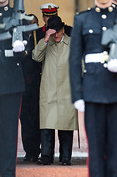 August 2, 2017 - London, London, UK - London, UK. The DUKE OF EDINBURGH attends The Captain General's Parade to mark the finale of the 1664 Global Challenge at Buckingham Palace. It is the Duke's final own programme of individual public engagements. (Credit Image: © Ray Tang/London News Pictures via ZUMA Wire)