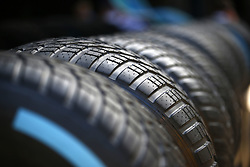 May 11, 2017 - Barcelona, Spain - Motorsports: FIA Formula One World Championship 2017, Grand Prix of Spain, .Pirelli, tire, tires, tyre, tyres, wheel, wheels, Reifen, Rad, feature  (Credit Image: © Hoch Zwei via ZUMA Wire)