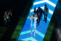 Real Madrid's player Pepe during the celebration of the victory of the Real Madrid Champions League at Santiago Bernabeu in Madrid. May 29. 2016. (ALTERPHOTOS/Borja B.Hojas)