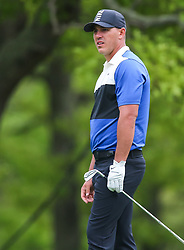 May 19, 2019 - Farmingdale, NY, U.S. - FARMINGDALE, NY - MAY 19: Brooks Koepka of the United States watches his tee shot on 14 during the Final Round of the 2019 PGA Championship, on the Black Course, Bethpage State Park, in Farmingdale, NY. (Photo by Joshua Sarner/Icon Sportswire) (Credit Image: © Joshua Sarner/Icon SMI via ZUMA Press)