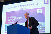NO FEE PICTURES                                                                                                                                              10/10/19 Paul Kelly, Director, Real Estate Finance, AIB, at the Irish Council for Social Housing (ICSH) Biennial Finance and Development Conference 2019 at the Clayton Whites Hotel, Wexford 10-11 October. The two-day conference brings together 300 delegates including active housing associations, currently facing the challenge of growing their housing stock and making it more environmentally sustainable. At the event, stakeholders from the public, not-for-profit and private sectors will discuss how collaboration and innovation can develop the sector's capacity to build more sustainable and climate resilient communities.Picture: Arthur Carron