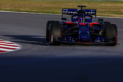 February 18, 2019 - Barcelona, Barcelona, Spain - Daniil Kvyat from Russia with 26 Scuderia Toro Rosso Honda in action during the Formula 1 2019 Pre-Season Tests at Circuit de Barcelona - Catalunya in Montmelo, Spain on February 18. (Credit Image: © Xavier Bonilla/NurPhoto via ZUMA Press)