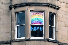 Still hope in Scotland, Edinburgh, 10 May 2020