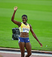 Great Britain's Christine Ohuruogu at the Sainsbury's Anniversary Games at the Queen Elizabeth II Olympic Park, London, United Kingdom on 24 July 2015. Photo by Mark Davies.