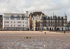 Low Tide on Portobello Beach, Edinburgh, 19 September 2020