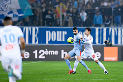 January 28, 2018 - Marseille, France - 07 Rachid GHEZZAL (mon) - 02 HIROKI SAKAI  (Credit Image: © Panoramic via ZUMA Press)
