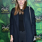 London, England, UK. 10th January 2018. Ella Woodward arrives at Cirque du Soleil OVO - UK premiere at Royal Albert Hall.