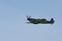 BBMF Spitfire at the  Midlands Air Festival Photo by Chris wynne