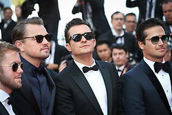 Leonardo DiCaprio and Orlando Bloom attend the screening of The Traitor during the 72nd annual Cannes Film Festival on May 23, 2019 in Cannes, France. Photo by Shootpix/ABACAPRESS.COM