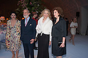 LOUISA BECCARIA; PRINCE MICHAEL OF KENT; ; PRINCESS MICHAEL OF KENT;  CARTIER CHELSEA FLOWER SHOW DINNER Dinner hosted by Cartier in celebration of the Chelsea Flower Show was held at Battersea Power Station. 22 May 2012