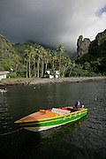 Hanavave, Island of Fatu Hiva, Marquesas Islands, French Polynesia<br />