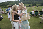 Elizabeth Getty and Jenny Halpern, Guy Leymarie and Tara Getty host The De Beers Cricket Match. The Lashings Team versus the Old English team. Wormsley. ONE TIME USE ONLY - DO NOT ARCHIVE  © Copyright Photograph by Dafydd Jones 66 Stockwell Park Rd. London SW9 0DA Tel 020 7733 0108 www.dafjones.com